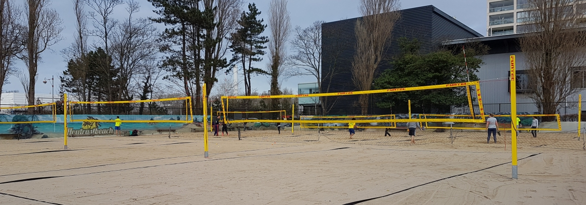 Talent beachvolleybal ontwikkeling