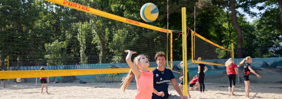 Beachvolleybal Houtrustbeach jeugd