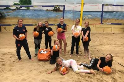 Beachvolleybal Lindobeach jeugd 7-17 jaar